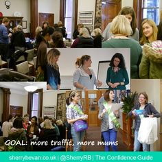 Goal: more traffic, more mums coming to my website