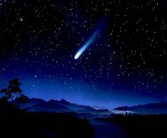 And I see a shooting star / Set apart from all the rest / While the other stars are standing still / He's on a quest / Every night this shooting star / Darts across the twilight sky / 'Cause he knows he doesn't quite fit in / And he's longing to know why