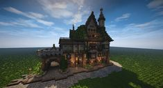 Medieval Tall House (Timelapse + Download) Minecraft Project