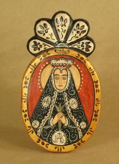 """Outstanding """"contemporary art"""" info is readily available on our site. Have a look and you wont be sorry you did. Mexican Crafts, Mexican Folk Art, Religious Icons, Religious Art, Colonial Art, Pop Art, Mexico Art, Blessed Mother, Sacred Art"""