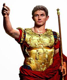 Tony Blair-ish illustration of the young Emperor Augustus! Ancient Rome, Ancient Art, Ancient History, Rome Antique, Art Antique, Italian Statues, Statue Tattoo, Roman Legion, Roman Gods