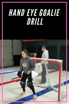 This is a simple hand eye goalie drill originally shared by @goaliesincjim, made famous by our friends at True Focus Vision. #goalies #goaliecoaches #goalietraining #goaliedrills