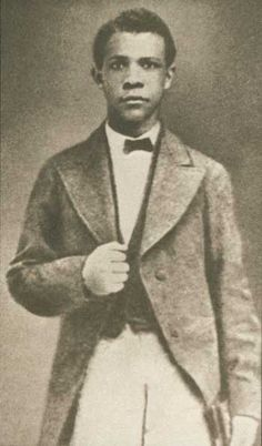 Booker T. Washington, about the time he attended Hampton Institute. (Booker T. Washington National Monument)