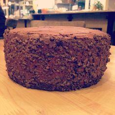 Triple Chocolate Cake - grain/dairy/egg/soy/gluten/refined sugar free/vegan/paleo www.feedmerachel.com