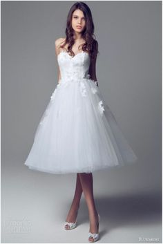 Short Skirts in Wedding Dress Click on image for more ideas