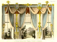There are curtain stlyes of every kind and design installed on every shape and size of Shop our window coverings, custom draperies and curtains, roman shades, valances, swags and other window toppers. Description from windowcurtain2014.com. I searched for this on bing.com/images