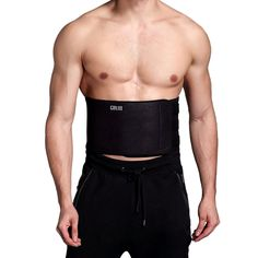 fee3aa6dd3 Waist Trimmer Ab Belt For Men Women - 3 Adjustable Closure Waist Trainer -  Stomach Wrap Slimming Sauna Weight Loss Belts and lower Back Lumbar Support  by ...