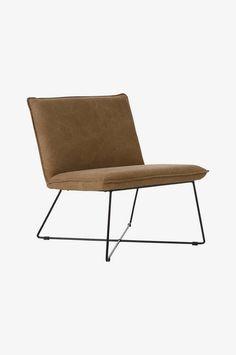 Ellos Home Lenestol Desto - Brun - Hjem & innredning - Ellos.no Outdoor Chairs, Outdoor Furniture, Outdoor Decor, Barcelona Chair, Accent Chairs, Lounge, Interior, Home Decor, Brown