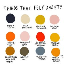 A week ago I asked what helps everyone the most when having an anxiety/panic attack. I took the most repeated answers and drew them into a… Health Anxiety, Anxiety Tips, Anxiety Help, Stress And Anxiety, Anxiety And Depression, Social Anxiety, Things To Help Anxiety, Mental Health, Frases