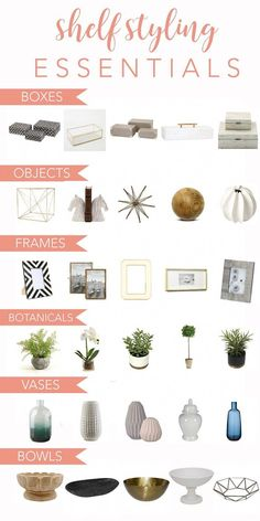 How to Style Shelves: Five Easy Steps and the Essential Ingredients design shelf styling How to Style Shelves