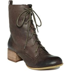 Lucky Brand Shoes, Harriet Booties ($52) ❤ liked on Polyvore featuring shoes, boots, ankle booties, women, short lace up boots, bootie boots, laced booties, lace up bootie and laced ankle boots