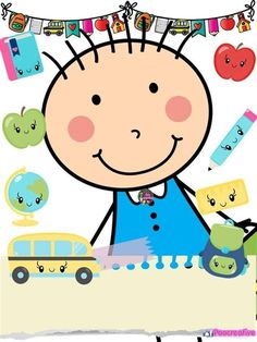 School Binder Covers, Classroom Clipart, Orange House, Hello Kitty, Preschool, Card Making, Clip Art, Diy Crafts, Creative