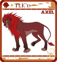 [ old ] - TLK'd Axel by ipqi.deviantart.com on @DeviantArt