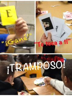 Game language for the Spanish classroom