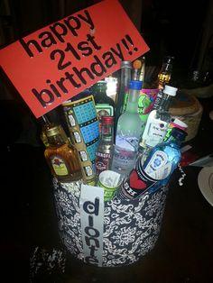 Gift For Boyfriend 21st Birthday 21St Idea