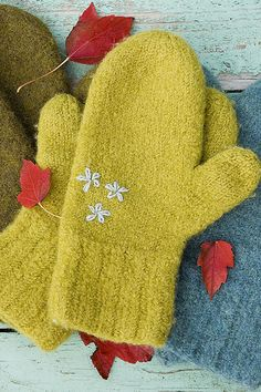 Ravelry: victoria72's Felted Mittens