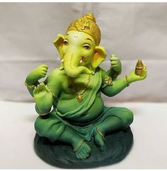 Make this Ganesha Chathurthi 2020 special with rituals and ceremonies. Lord Ganesha is a powerful god that removes Hurdles, grants Wealth, Knowledge & Wisdom. Ganesh Chaturthi Decoration, Happy Ganesh Chaturthi Images, Shri Ganesh Images, Ganesha Pictures, Ganesh Idol, Ganesha Art, Ganesh Lord, Lord Shiva, Ganpati Picture