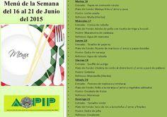 PROMOCION DE OFICIALES PIP: AOPIP EL MENÚ DE LA SEMANA