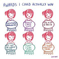 Awards I Actually Win