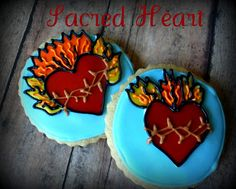 the enchanted oven: Sacred Heart cookies