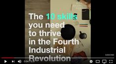 Do you have the right skill set to thrive in the Fourth Industrial Revolution? Take the courage to move forward. # career progress # future of YOUR work # courage # progress # take the courage