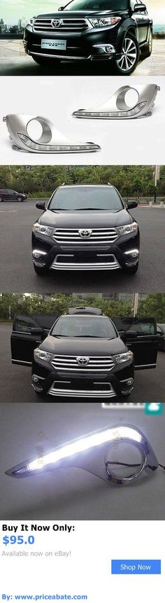 Motors Parts And Accessories For Toyota Highlander 2017 2x Led Daytime Running Fog
