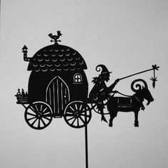 the witch's caravan by PaperTales.deviantart.com on @deviantART