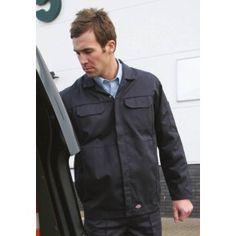 Dickies Workwear, Work Wear, Raincoat, Leather Jacket, Jackets, Style, Fashion, Man Women, Down Vest