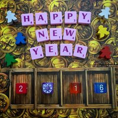 Happy New Year fellow tabletop gamers from Gameapalooza Australia! Here's to an awesome 2016. #tabletop #boardgames #boardgaming #tabletopgames #juegodemesa #brettspiel #boardgamers #boardgamegeek #bgg #boardgame #meeples #scrabble #newyear2016 #happynewyear #happynewyear2016
