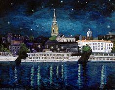 Les bateaux à Belgrade