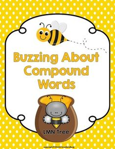 This FREE literacy activity is designed to teach your students about compound words. Students will make compound words with words related to bees. After students make their compound words they will write sentences with four of their words. You may also like:Busy Bees