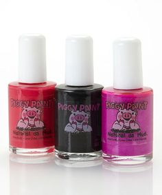 Take a look at this Sleepover Nail Polish Set by Piggy Paint on #zulily today!