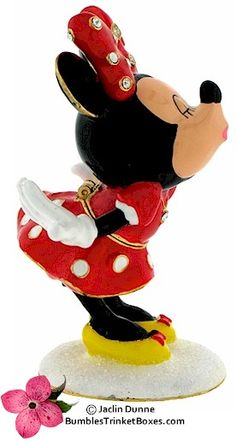 Trinket Box: Disney- Minnie Mouse Kiss