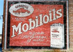 Ghost Sign for Mobiloils - Vacuum Oil Co. - Detroit, MI