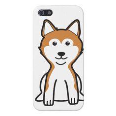 Shiba Inu Dog Cartoon iPhone 5 Case