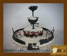 Fonte para cenário de vila de Natal. www.facebook.com/gaiotto.atelier http://agaiotto.blogspot.com/ atelier.gaiotto@gmail.com F: (19) 3012-3588