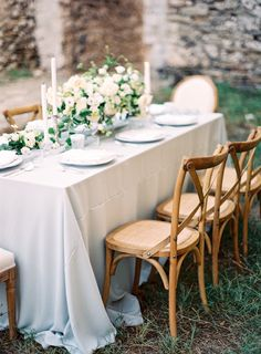 Soft Green and Blue Wedding Table | photography by http://www.jessicalyonsphotography.com/