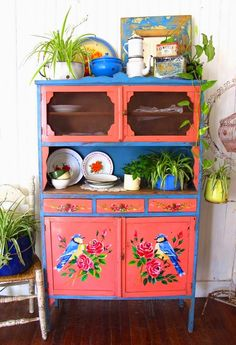 Las Vidalas Painted Furniture
