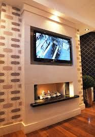 False Chimney Breast Electric Fire Google Search Things For My - Tv false wall