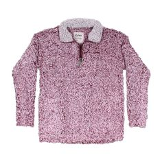 Frosty Tipped Women's Stadium Pullover in Vintage Wine by True Grit (Dylan) #$100-to-$200 #cf-size-m #Fall17