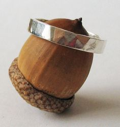 Men's Wedding Band Ring Unisex Wedding Ring by CincoJewelry