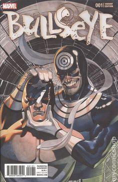 Bullseye (2017 Marvel) 1C  Marvel Comics Modern age Bronze Age Comic book covers Super Heroes Villians 1