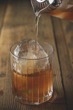 apple shrub cocktail - honestly yum