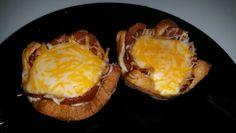 Bacon Egg in Basket
