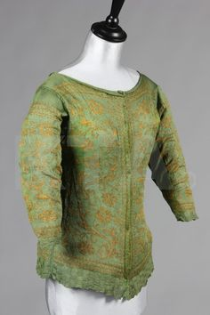 Jacket, Mid 17thc., Italian, Made of silk