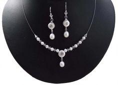 Perlen Brautkette Ornara Design handgefertigt