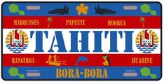 COLLECTION PLATE : TAHITI