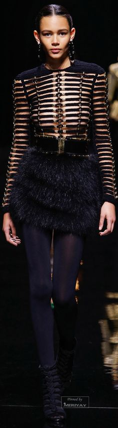 Balmain.Fall / Winter 2014-2015