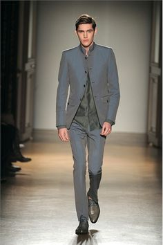 Smalto - Men Fashion Spring Summer 2012 Vogue.it Smalto delivers plenty of style in this collection.