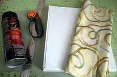 DIY Tuesday :: Fabric Covered Binder I may repurpose my old Day of the Dead curtains for this!